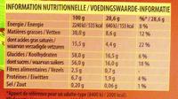 Double lait praliné - Voedigswaarden