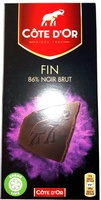 Fin 86% Extra noir - Product