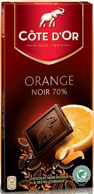 Côtes d'Or Orange Noir 70 % - Produit - fr