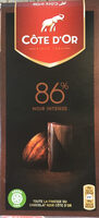 noir intense 86% - Product
