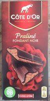 Praliné Fondant Noir - Produit - fr