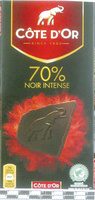 70% Noir Intense - Product