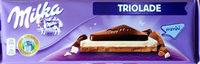 Milka Chocolat Triolade - Produit - fr