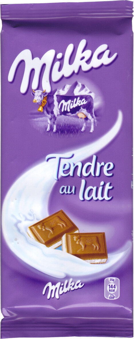 Milka Tendre au Lait - Produit - fr