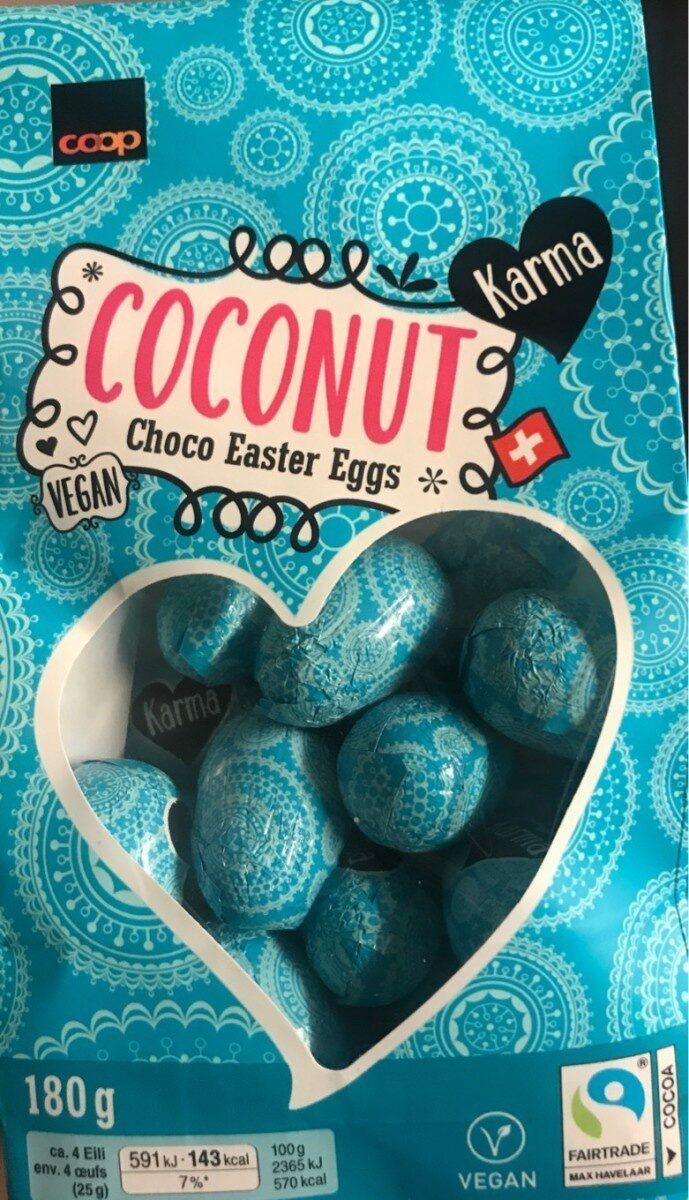 Coconut Choco Easter Eggs - Prodotto - it