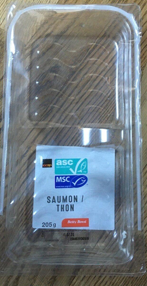 Toast saumon / thon - Prodotto - fr
