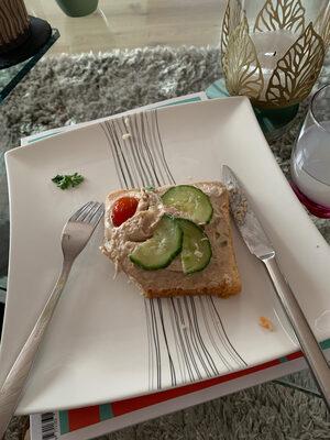 Toast saumon / thon - Ingredienti - fr
