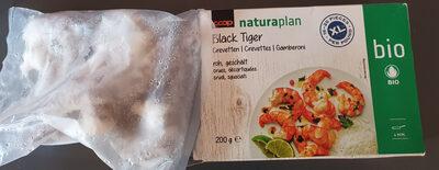 Black tiger crevettes - Product - fr