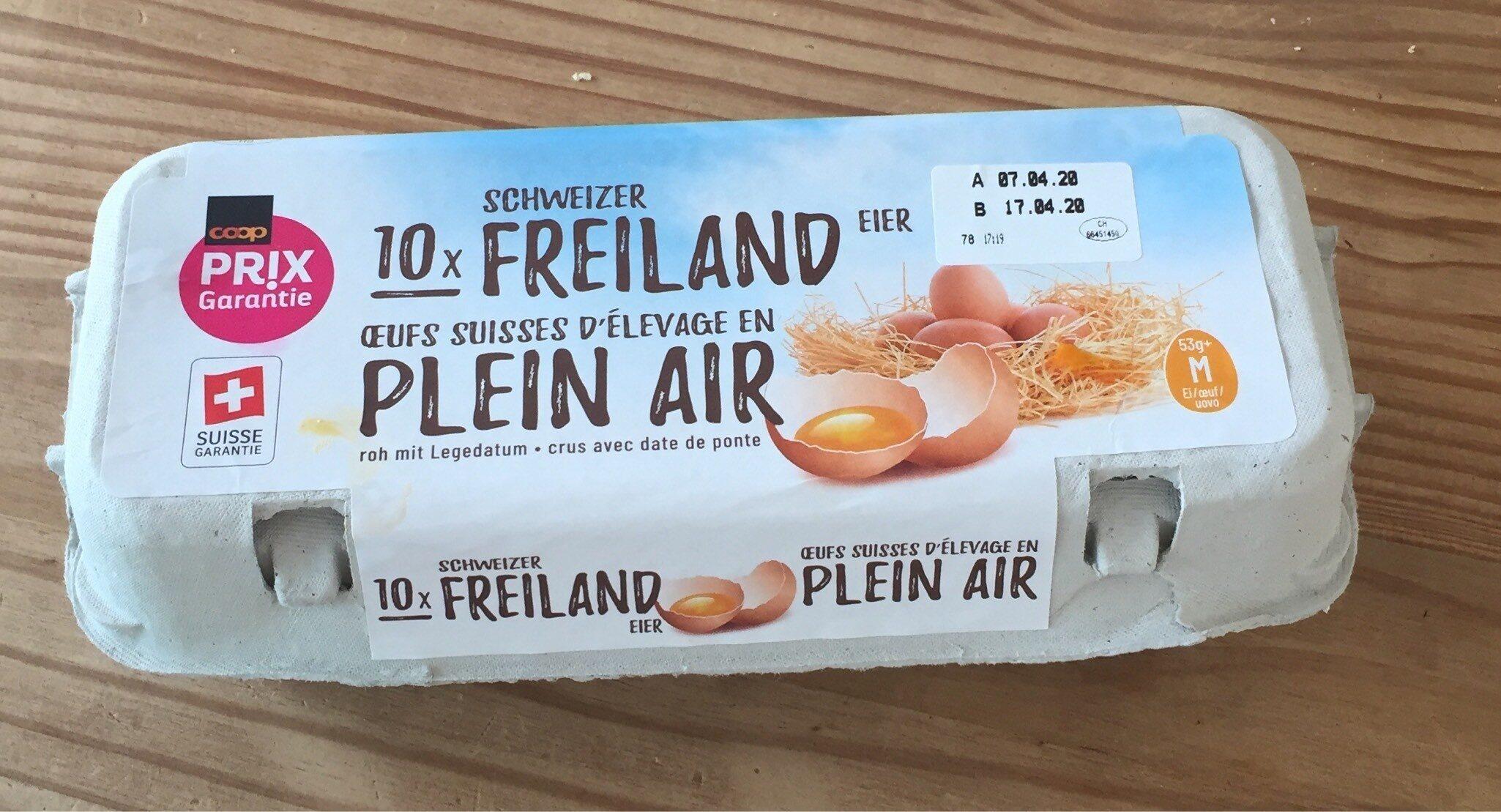 Oeufs Suisse d'élevage en plein air - Product - fr