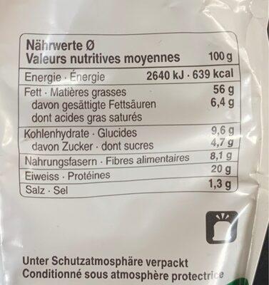 Herbes des Alpes - Voedingswaarden - fr