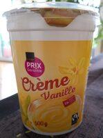 Crème vanille - Prodotto - fr