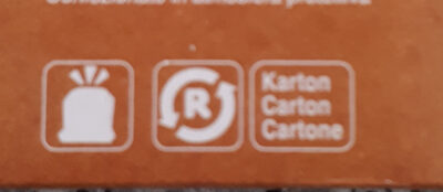 Biscuits au chocolat pour le café - Recycling instructions and/or packaging information