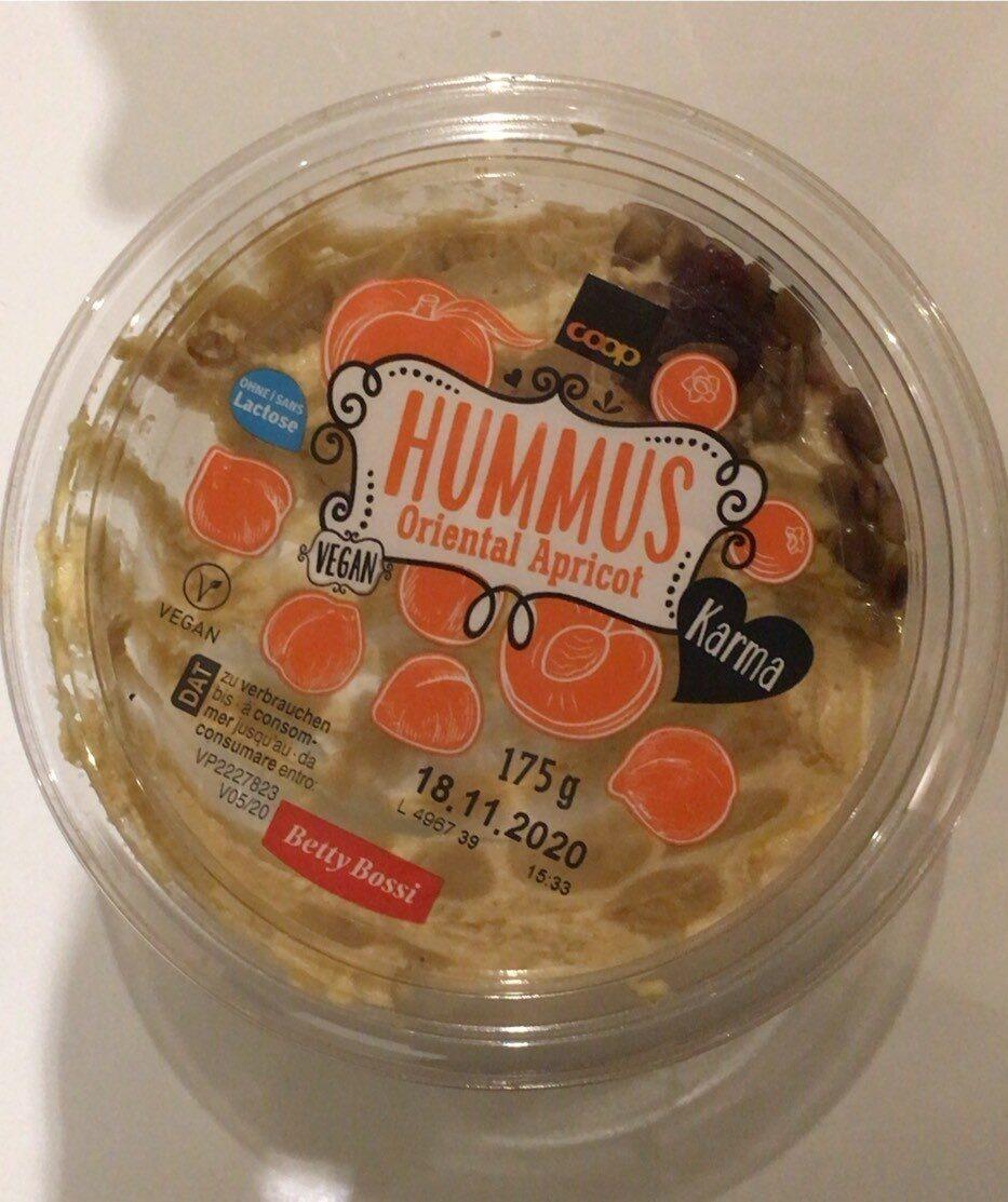 Hummus oriental abricot - Prodotto - fr