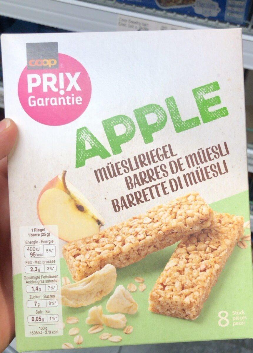 Barres de Müesli Apple - Prodotto - fr
