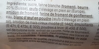 Anke cale - Ingredienti - fr