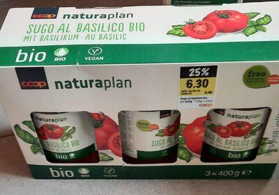 Sugo al basilico bio - Product - fr