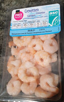 Crevettes cuites, salées - Product - en