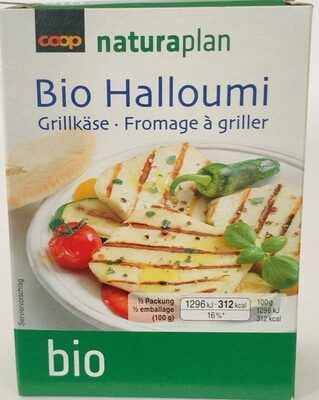Halloumi Bio - Product - fr