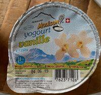 Yogourt vanille - Ingrediënten