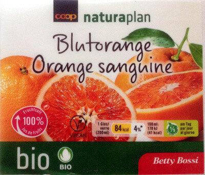 Jus d'orange sanguine - Product - fr