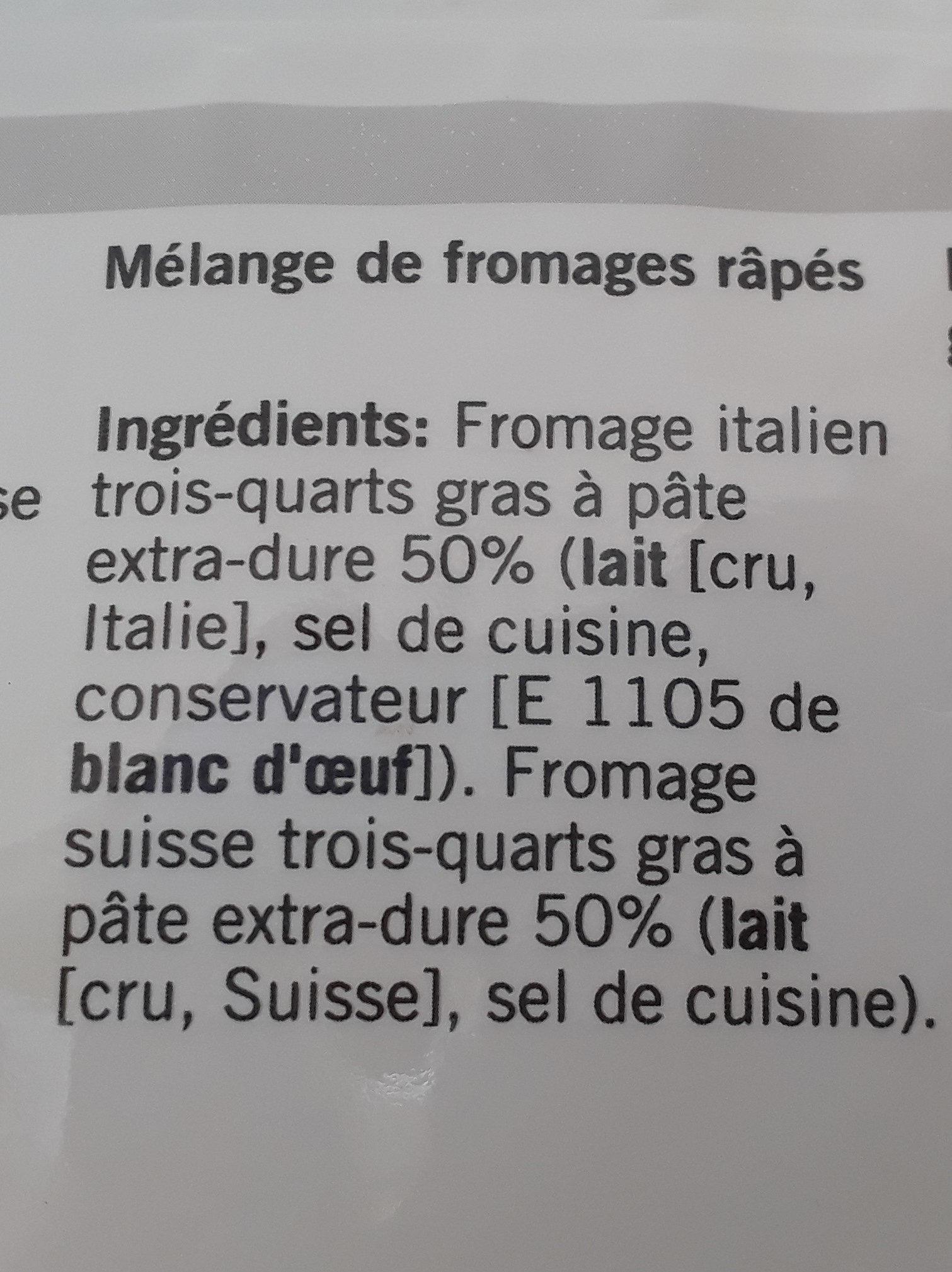 Qualité & Prix Gran d'Oro - Ingredienti - fr