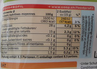 Qualité & Prix Gran d'Oro - Informazioni nutrizionali - fr
