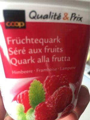Séré aux fruits Framboise - Produit - fr