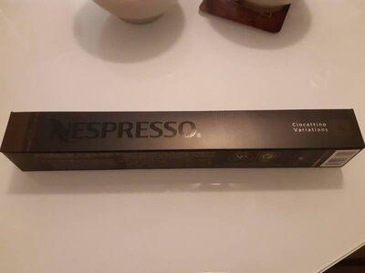 Nespresso Ciocattino Variations
