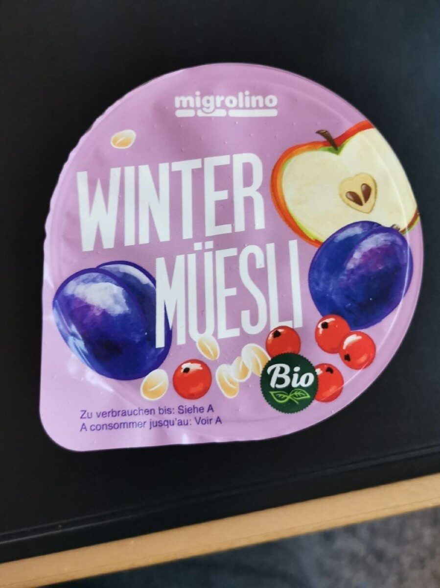 Winter müesli - Product