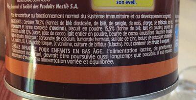 Ptite cereale - Ingredients - fr