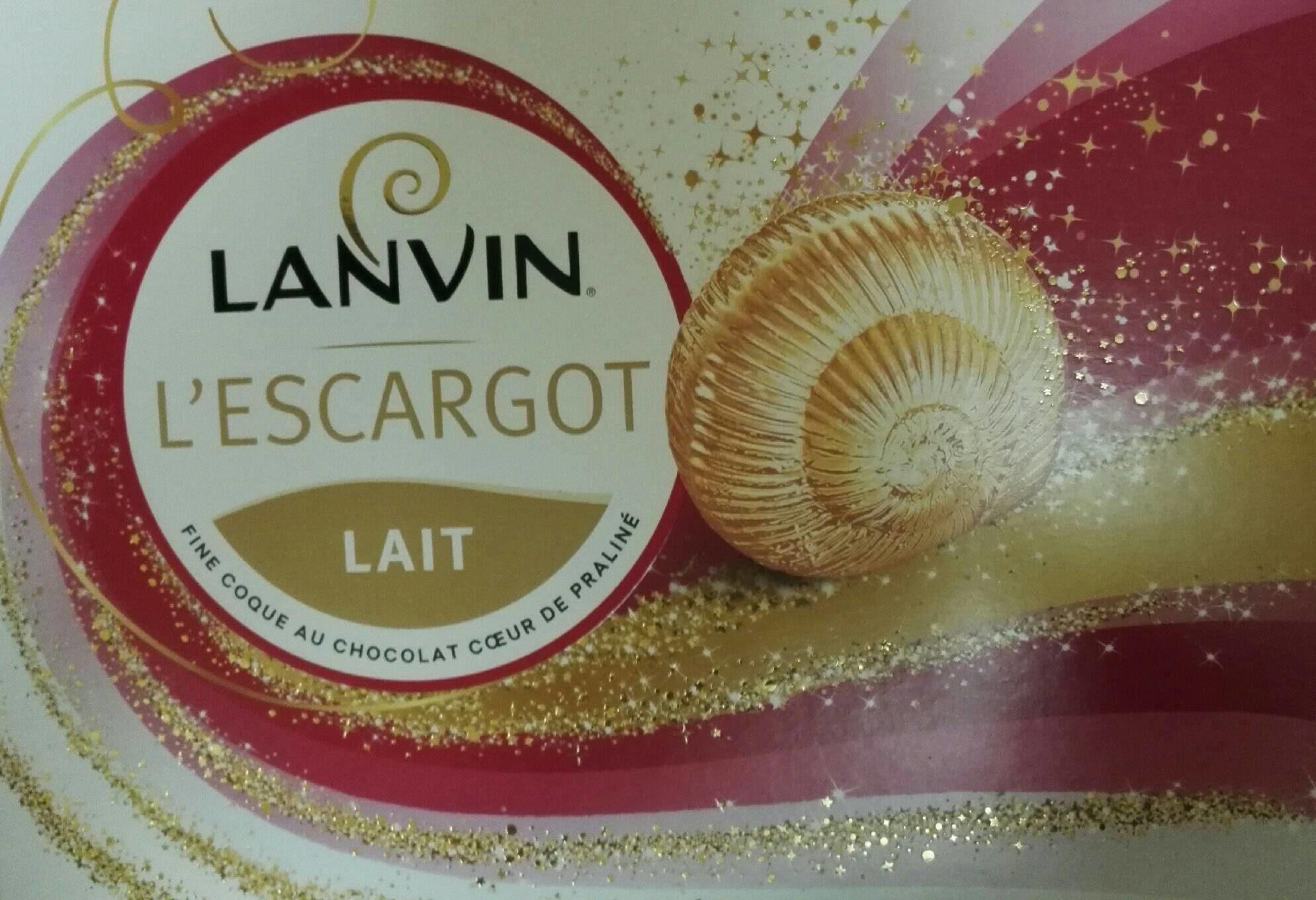 L'escargot de Lanvin - Product