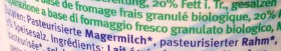 Cottage cheese - Ingredients - de