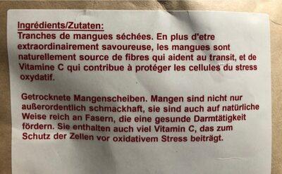 Mango - Ingrédients - fr