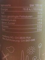 Bio Kraststoff - Voedingswaarden - en