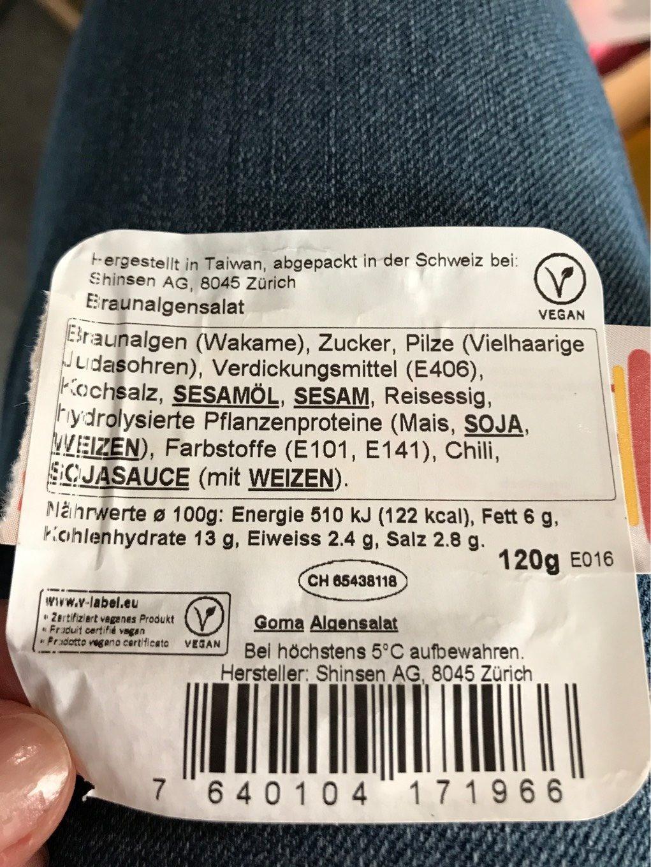 Goma Algensalat - Product