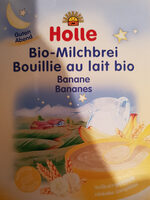 BOUILLIE POUR BEBE LAIT BANANE DES 6 MOIS - Produit
