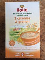 3 céréales BIO - Product - fr