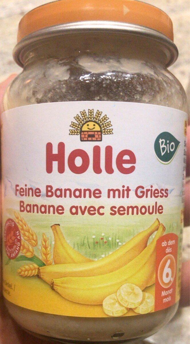 Banane avec semoule - Prodotto - fr