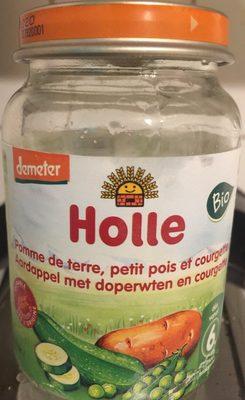 Petit Pot PDT Petits Pois Courgettes - Produit