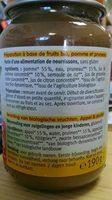 Petit Pot Pomme Pruneau - Ingrédients