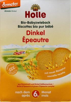 Biscottes bio pour bébé - Product