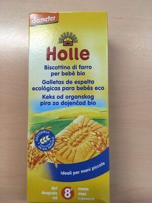 Galletas de espelta ecológicas para bebés eco