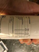 Holunderblütensirup - Nutrition facts - de