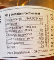 Konfitüre Gelée, Quitten - Ingredients