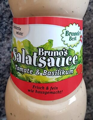 Sauce à salade tomate & basilic - Product