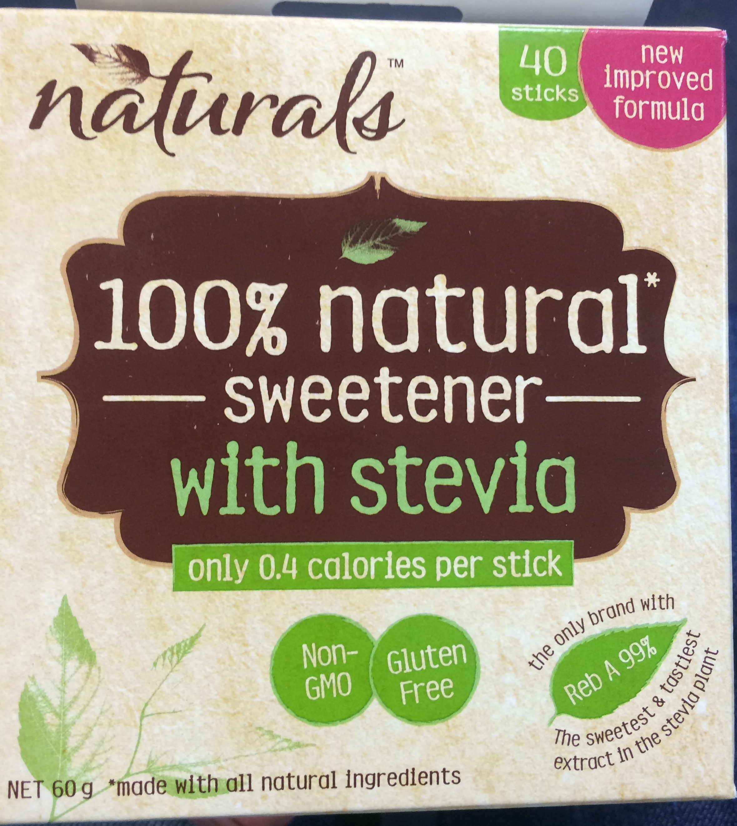 100% natural sweetener with stevia - Product - en