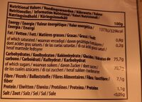 Fruit forest _ real fruit snack - Voedingswaarden - fr