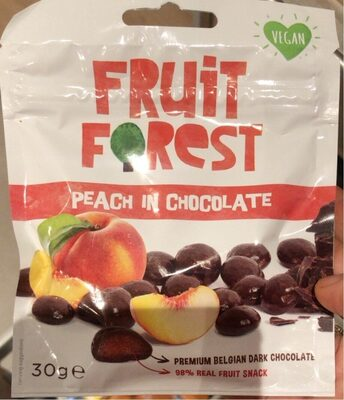 Peach in chocolate - Product - fr