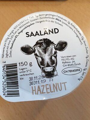 Joghurt Hazelnut Saaländ - Produit - fr