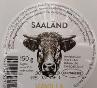 Joghurt Vanille - Valori nutrizionali - de